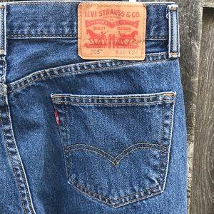Levi Strauss 30 X 34 505 Jeans
